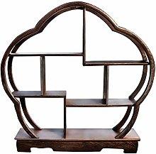 ZWJABYY Artigianato cremagliera scrivania Antica
