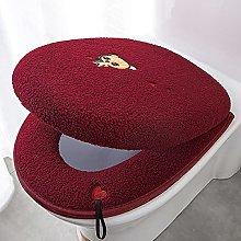 ZXMDP Coprisedile per WC Closestool Pad con Manico