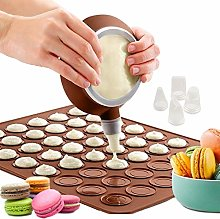ZXT Tappetino in Silicone per Macaron,Stampo in